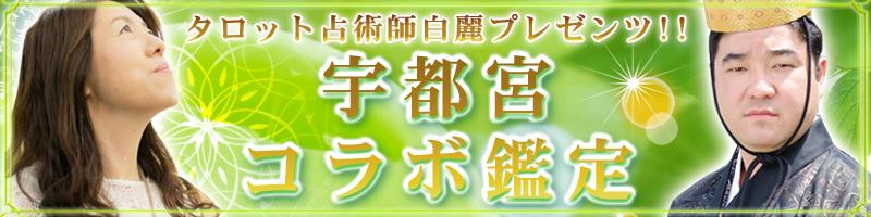 宇都宮当たる占い師白麗ユタHIRAKAWAコラボ霊視霊感